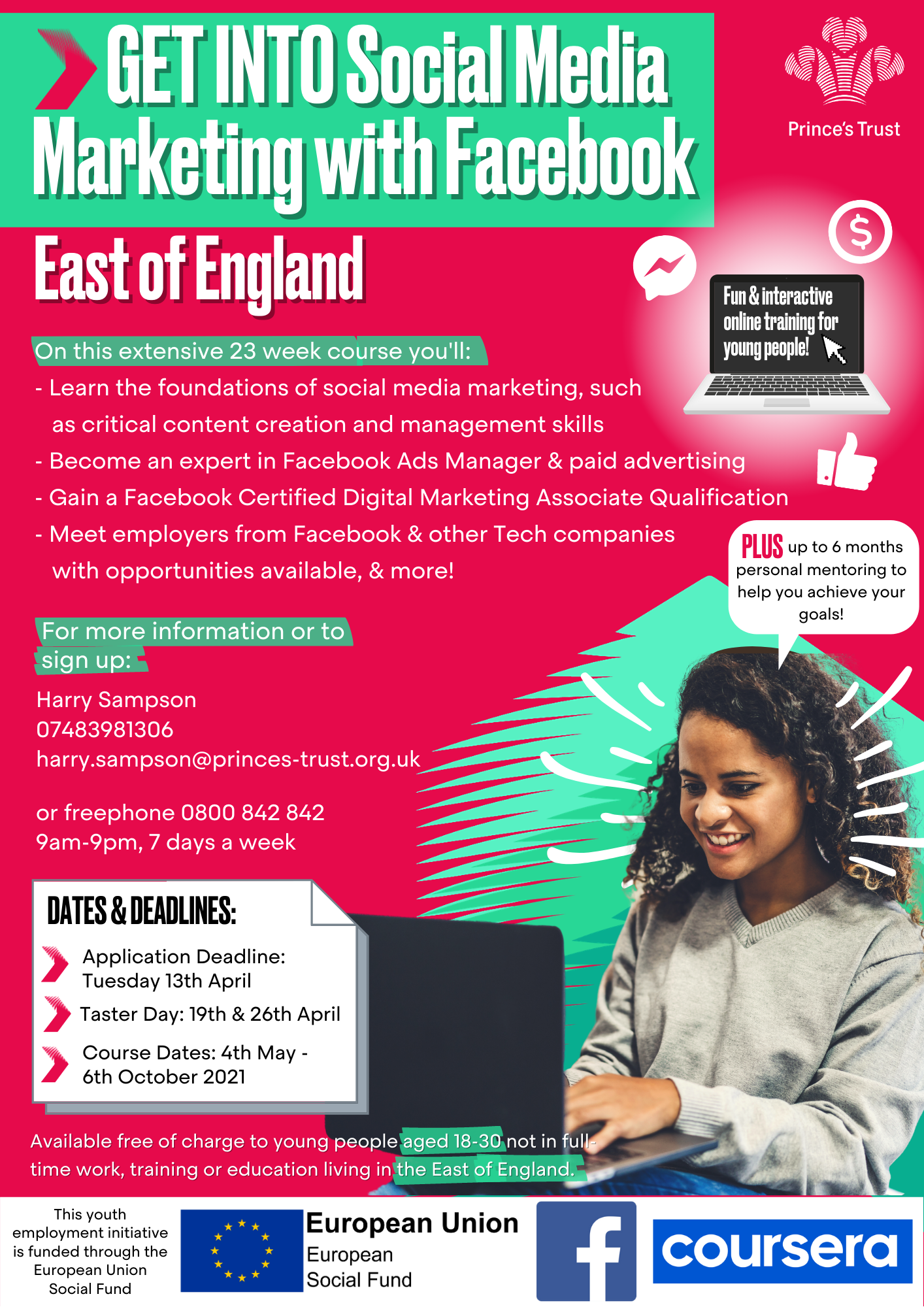 GI Social Media Marketing With FB Eoe April Poster (WITH FB LOGO) (002)